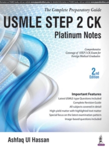 USMLE Platinum Notes Step 2 CK, Paperback Book