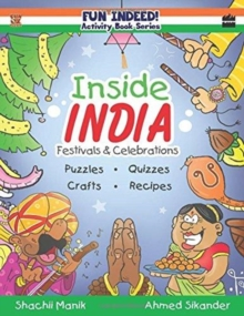 Inside India : Festivals and Celebrations, Activity Book for Kids, Paperback / softback Book