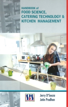 Handbook of Food Science, Catering Technology & Kitchen Management, Hardback Book