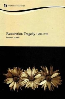 Restoration Tragedy 1660-1720, Paperback Book