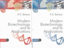 Modern Biotechnology and its Applications (Set of 2vols.) Set Price, Hardback Book
