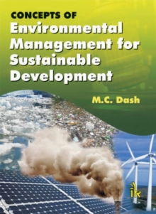 Concepts of Environmental Management for Sustainable Development, Paperback / softback Book