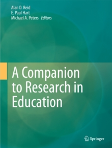 A Companion to Research in Education, Hardback Book