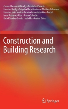 Construction and Building Research, Hardback Book