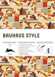 Bauhaus Style: Gift & Creative Paper Book : Vol. 64, Paperback Book