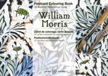 William Morris : Postcard Colouring Book, Paperback Book