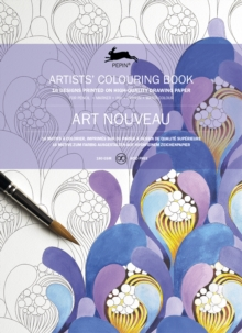 Art Nouveau : Artists' Colouring Book, Paperback Book