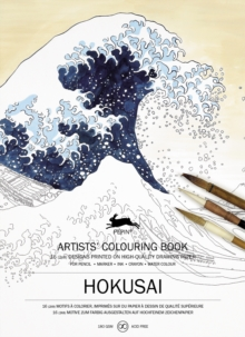 Hokusai : Artists' Colouring Book, Paperback Book