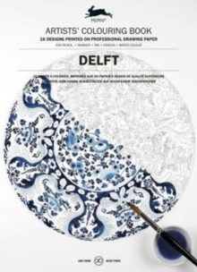 Delft Blue : Artists' Colouring Book, Paperback Book