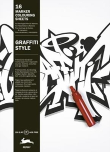 Graffiti Style : Marker Colouring Cards Book, Hardback Book