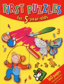 First Puzzles for 5-Year-Olds, Book Book