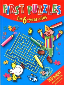 First Puzzles for 6-Year-Olds, Book Book