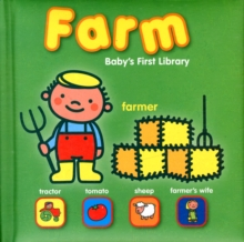 Baby's First Library Farm, Board book Book
