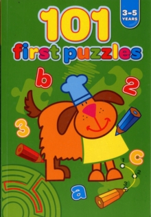 101 First Puzzles 3-5 Years, Book Book