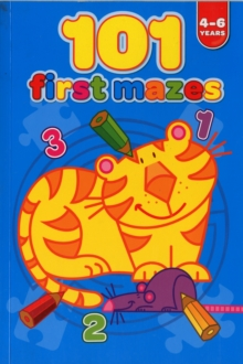 101 First Mazes 4-6 Years, Book Book