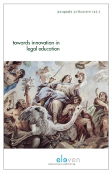Towards Innovation in Legal Education, Paperback Book