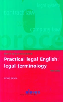 Practical Legal English: Legal Terminology, Paperback / softback Book