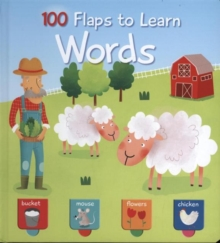 100 FLAPS TO LEARN WORDS, Hardback Book
