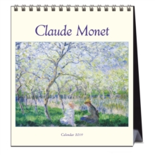 MONET THE GIVERNY YEARS 2019 CALENDAR, Spiral bound Book