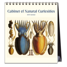 CABINET OF NATURAL CURIOSITIES 2019 CALE, Spiral bound Book