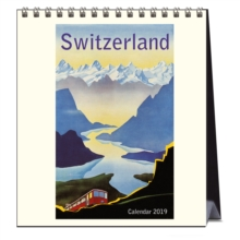 SWITZERLAND 2019 CALENDAR, Spiral bound Book