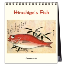 HIROSHIGES FISH PRINTS 2019 CALENDAR, Spiral bound Book