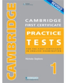 CAMBRIDGE FC PRACTICE TESTS 1REVIDED ED STUDENT BOOK, Paperback / softback Book