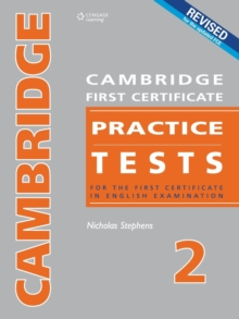 Cambridge First Certificate Practice Tests - Teacher's Book 2, Paperback / softback Book