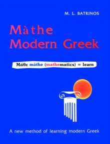 Mathe Modern Greek, Paperback / softback Book