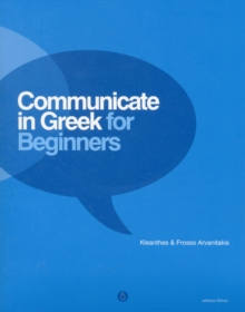 Communicate in Greek for Beginners, Mixed media product Book