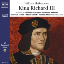King Richard III : Performed by Kenneth Branagh & Cast, CD-Audio Book