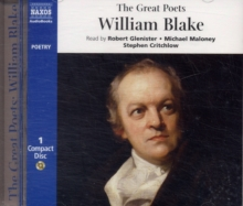 The Great Poets : William Blake, CD-Audio Book