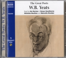 The Great Poets : W.B. Yeats, CD-Audio Book
