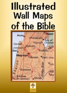 Iiustrated Wall Maps of the Bible, Sheet map, folded Book