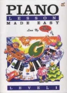 Piano Lessons Made Easy Level 1, Sheet music Book