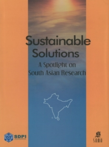 Sustainable Solutions : A Spotlight on South Asian Research, Hardback Book