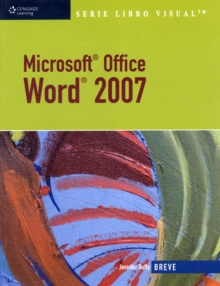 Microsoft Office Word 2007 : SERIE LIBRO VISUAL, Paperback / softback Book