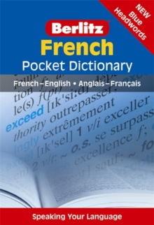 Berlitz Pocket Dictionary French, Paperback Book