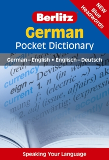 Berlitz Language: German Pocket Dictionary, Paperback Book