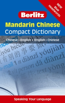 Berlitz Language: Mandarin Chinese Compact Dictionary, Paperback Book