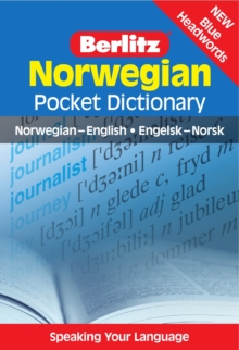 Berlitz: Norwegian Pocket Dictionary : Norwegian-English = Engelsk-Norsk, Paperback Book