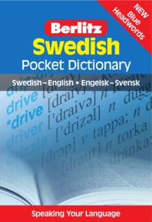 Berlitz: Swedish Pocket Dictionary : Swedish-English = Engelsk-Svensk, Paperback Book