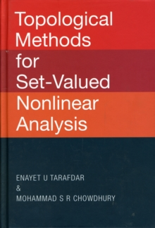 Topological Methods for Set-Valued Nonlinear Analysis, Hardback Book