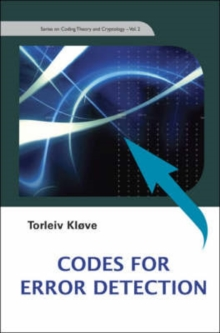 Codes For Error Detection, Hardback Book