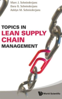 Topics In Lean Supply Chain Management, Hardback Book