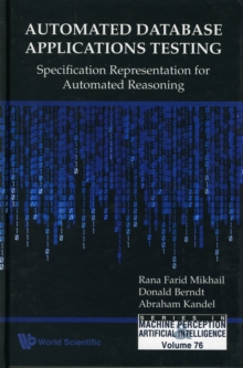 Automated Database Applications Testing: Specification Representation For Automated Reasoning, Hardback Book