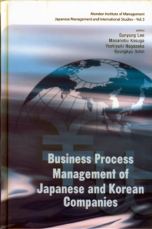 Business Process Management Of Japanese And Korean Companies, Hardback Book
