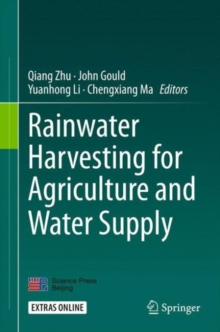 Rainwater Harvesting- For Agriculture and Water Supply, Hardback Book