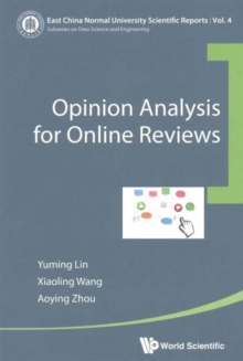 Opinion Analysis For Online Reviews, Paperback / softback Book