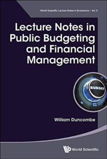 Lecture Notes In Public Budgeting And Financial Management, Paperback / softback Book